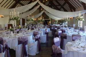 Mains hall candelabras available in silver, gold or ivory